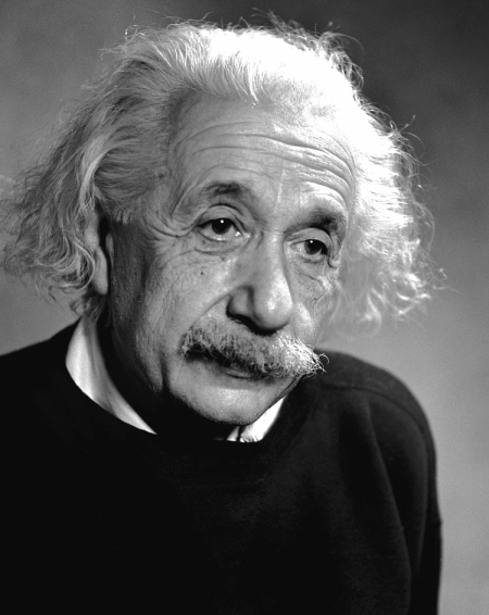 Einstein, Albert, 1946 by Fred Stein